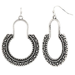 Decree Hoop Earrings