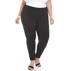 Fashion To Figure Basic Crepe Workwear Pants-Plus