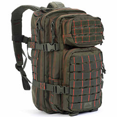 Red Rock Outdoor Gear Rebel Assault Pack - Olive Drab w/Red Stitching