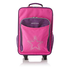 Obersee® Kids Bling Star Luggage with Integrated Cooler