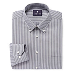 Stafford® Executive Non-Iron Pinpoint Oxford Dress Shirt - Big & Tall