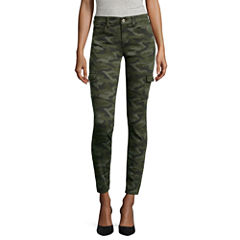 Arizona Luxe Stretch Twill Cargo Jeggings
