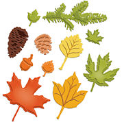 Spellbinders™ Shapeabilities® Die, Fall Foliage