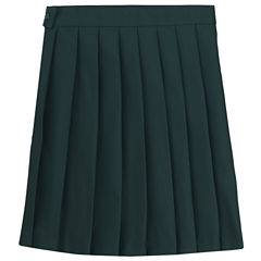 French Toast Pleated Skirt Woven Pleated Skirt - Big Kid Girls
