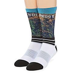 Boom Sox® Sublimated Hollywood Crew Socks