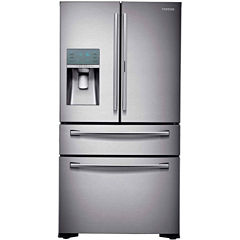 Samsung ENERGY STAR® 22.4 cu. ft. Counter Depth 4-Door Food Showcase French Door Refrigerator