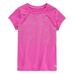 Xersion Short Sleeve T-Shirt-Toddler Girls