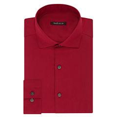 Van Heusen No-Iron Lux Sateen Slim Fit Long Sleeve Dress Shirt