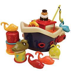 Toysmith Fish & Splish Boat Bath Toy Bath Toy