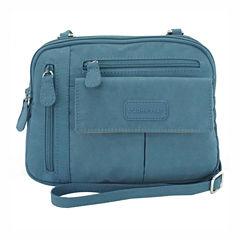 St. John's Bay Zippy Crinkle Nylon Crossbody Bag