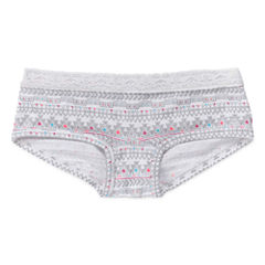 Total Girl Boyshort Panty-Big Kid Girls