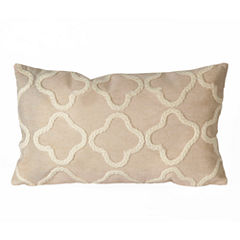 Liora Manne Visions Ii Crochet Tile Rectangular Outdoor Pillow