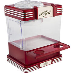 Nostalgia RSM602 Retro Series Snow Cone Maker & Shaved Ice Storage