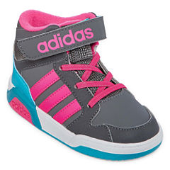 adidas Girls Basketball Shoes - Toddler