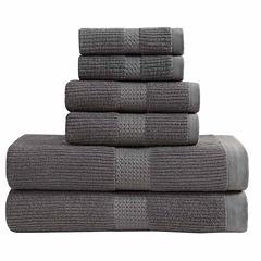 London Fog Quick Dry 6-Pc Towel Set