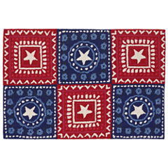 Liora Manne Frontporch Bandana Hand Tufted Rectangular Rugs
