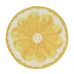 Liora Manne Frontporch Lemon Slice Hand Tufted Rectangular Rugs