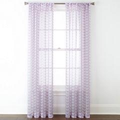 Home Expressions™ Kelsie Rod-Pocket Sheer Panel