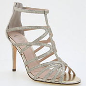 I. Miller Mariane Caged Glitter Dress Sandals
