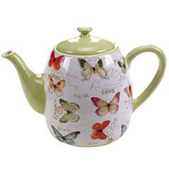 Certified International Rainbow Seeds 40-oz. Teapot