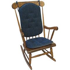 Klear Vu Polar Gripper® 2-pc. Rocker Chair Cushion Set