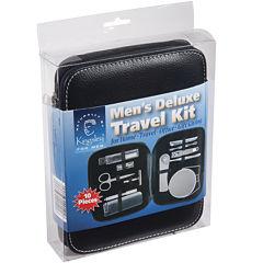 Harry D. Koenig Men's Deluxe 10-pc. Travel Kit