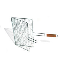 Fox Rub BBQ Chef's Outdoor Grill Basket and Skillet
