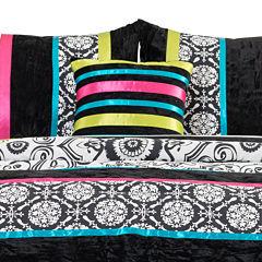Seventeen® Boho Nikko Square Damask Decorative Pillow