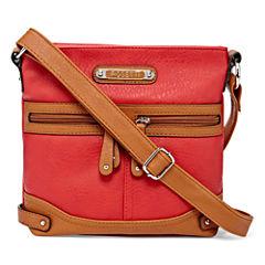 Rosetti® Mini Triple Play Sage Crossbody Bag