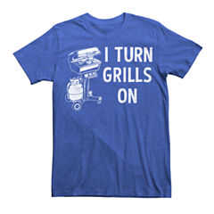 I Turn Grills On SS Tee