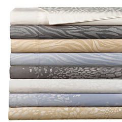 Cathay Home 300tc Rayon from Bamboo/Cotton/Polyester Jacquard Sheet Set