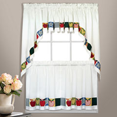 United Curtain Co. Appelton Rod-Pocket Kitchen Curtains