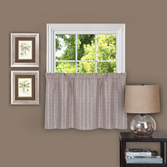 Sydney Rod-Pocket Kitchen Curtains