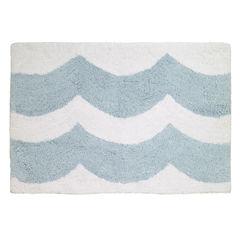 Avanti® Blue Wave Bath Rug