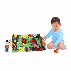 Melissa & Doug® Take-Along Farm Play Mat