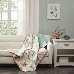 Madison Park Pacific Grove Oversized Quilted Throw