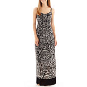 nicole by Nicole Miller® Sleeveless Woven Maxi Dress