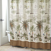 Avanti Colony Palm Shower Curtain