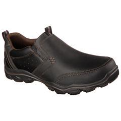 Skechers® Devent Mens Moc-Toe Slip-On Shoes