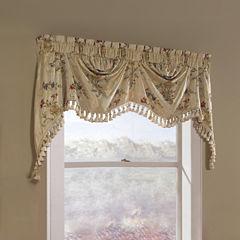 United Curtain Co. Jewel Rod-Pocket Lined Valance