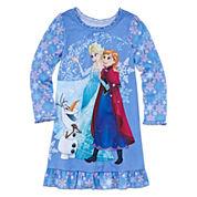 Disney Frozen Long-Sleeve Nightshirt - Girls 7-16