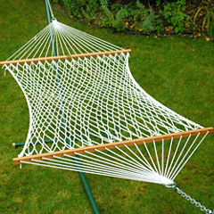 13-Foot Double Polyester Fabric Hammock