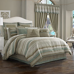 Queen Street® Nantucket 4-pc. Jacquard Chenille Comforter Set & Accessories