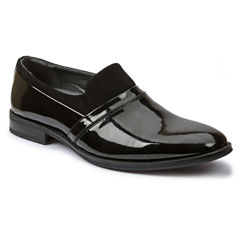 Giorgio Brutini Mens Patent Slip-On Tuxedo Shoes