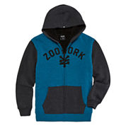 Zoo York® Full-Zip Sherpa Hoodie - Boys 8-20