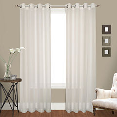 United Curtain Co. Venetian 2-Pack Grommet-Top Curtain Panel