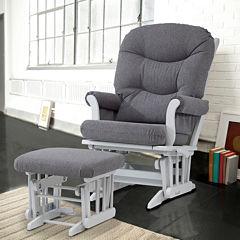 Dutailier® 2-pc. Dark Sleigh Glider Furniture Set
