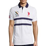 U.S. Polo Assn.® Short-Sleeve Tipped Polo