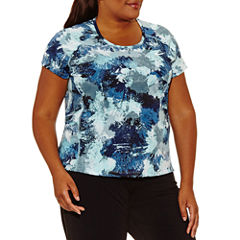 Nike Short Sleeve Crew Neck T-Shirt-Plus
