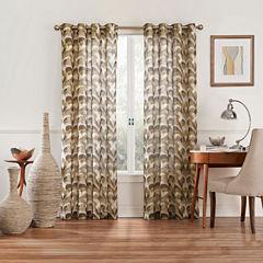 Eclipse Amadora Rod-Pocket Sheer Curtain Panel